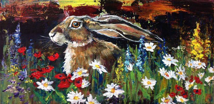 Painting by Rebecca Shepherd