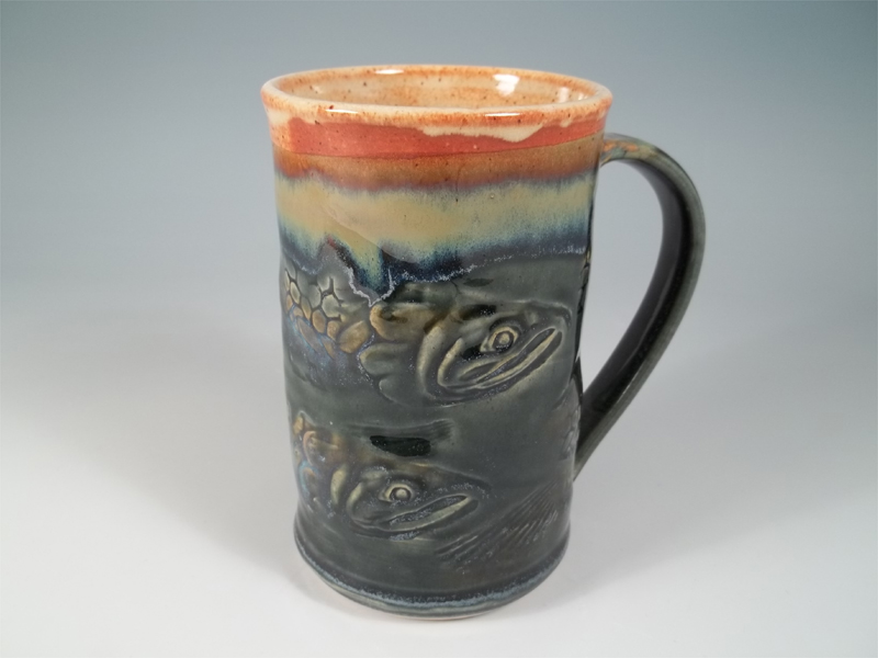 Salmon Mug by Sorrento Stoneware