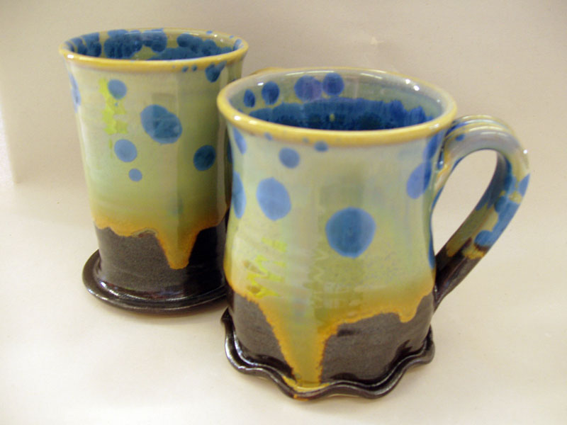 Crystaline Mugs by The Nyestes